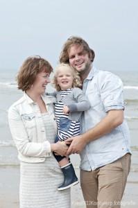 familie fotoshoot strand