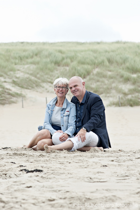 familie fotoshoot strand