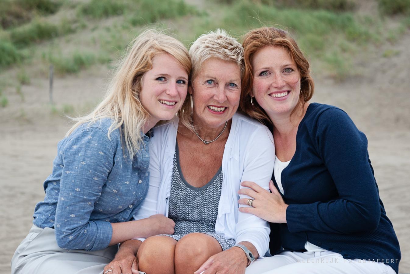 moeder en schoondochters