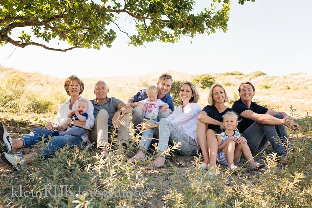 Familie fotoshoot aan het strand, duinen & Bos | Egmond Binnen