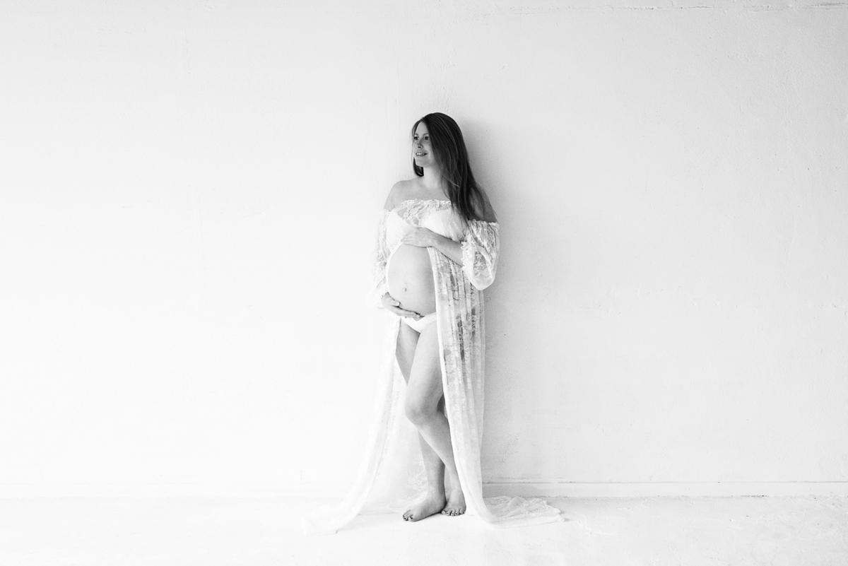 zwangerschapsfotografie in de studio