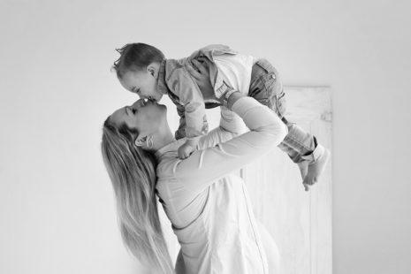 zwangerschapsfotografie met het gezin
