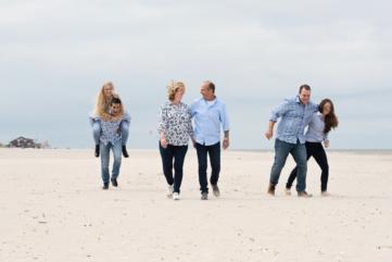 strandshoot met het gezin Callantsoog